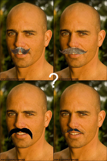 Kelly Slater Will Grow A Moustache