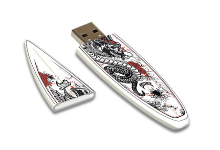 Lost Speed Demon USD Flash Drive