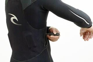 H-Bomb Wetsuit Back