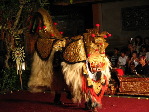 Traditional dance in Ubud, Bali.