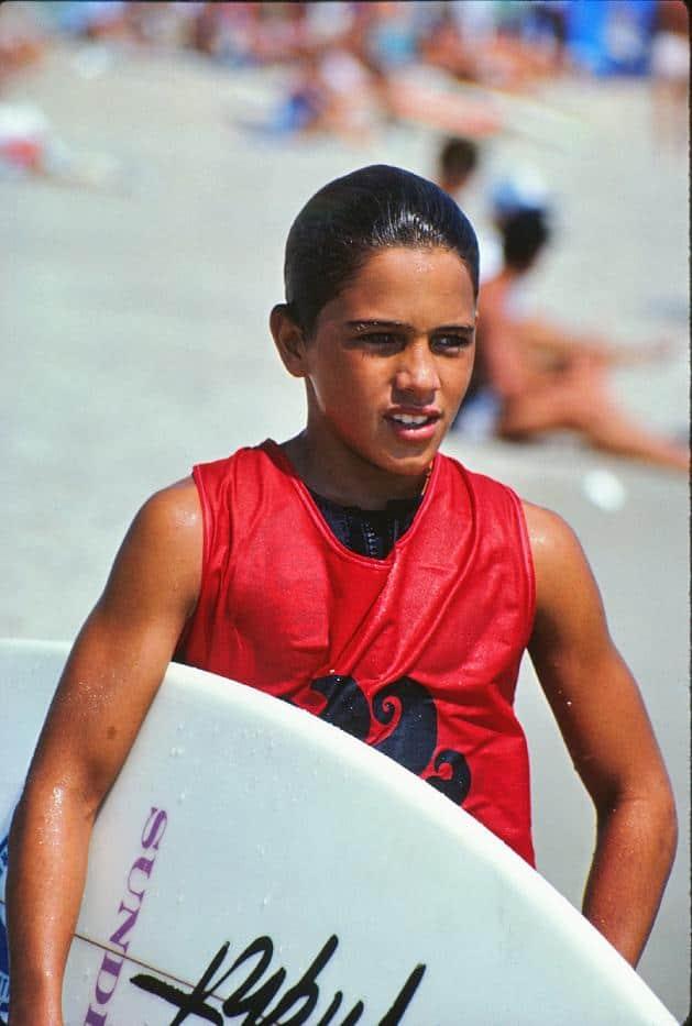 Even Kelly was a grom   Kelly Slater Daughter