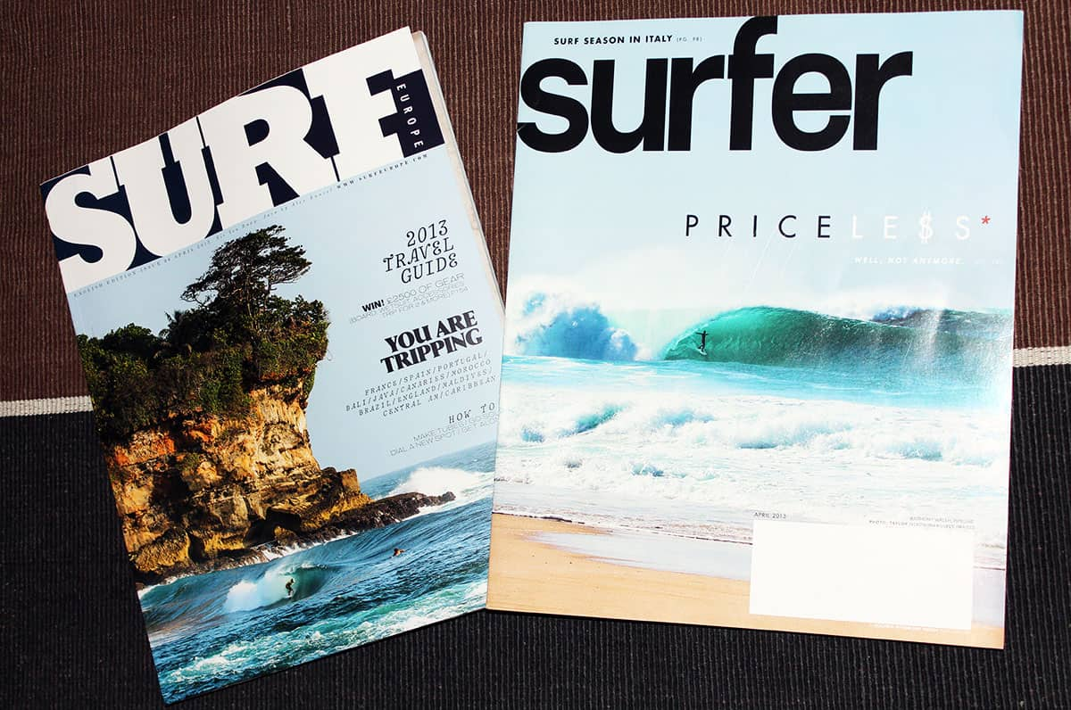 Surf Europe vs. Surfer MAgazine