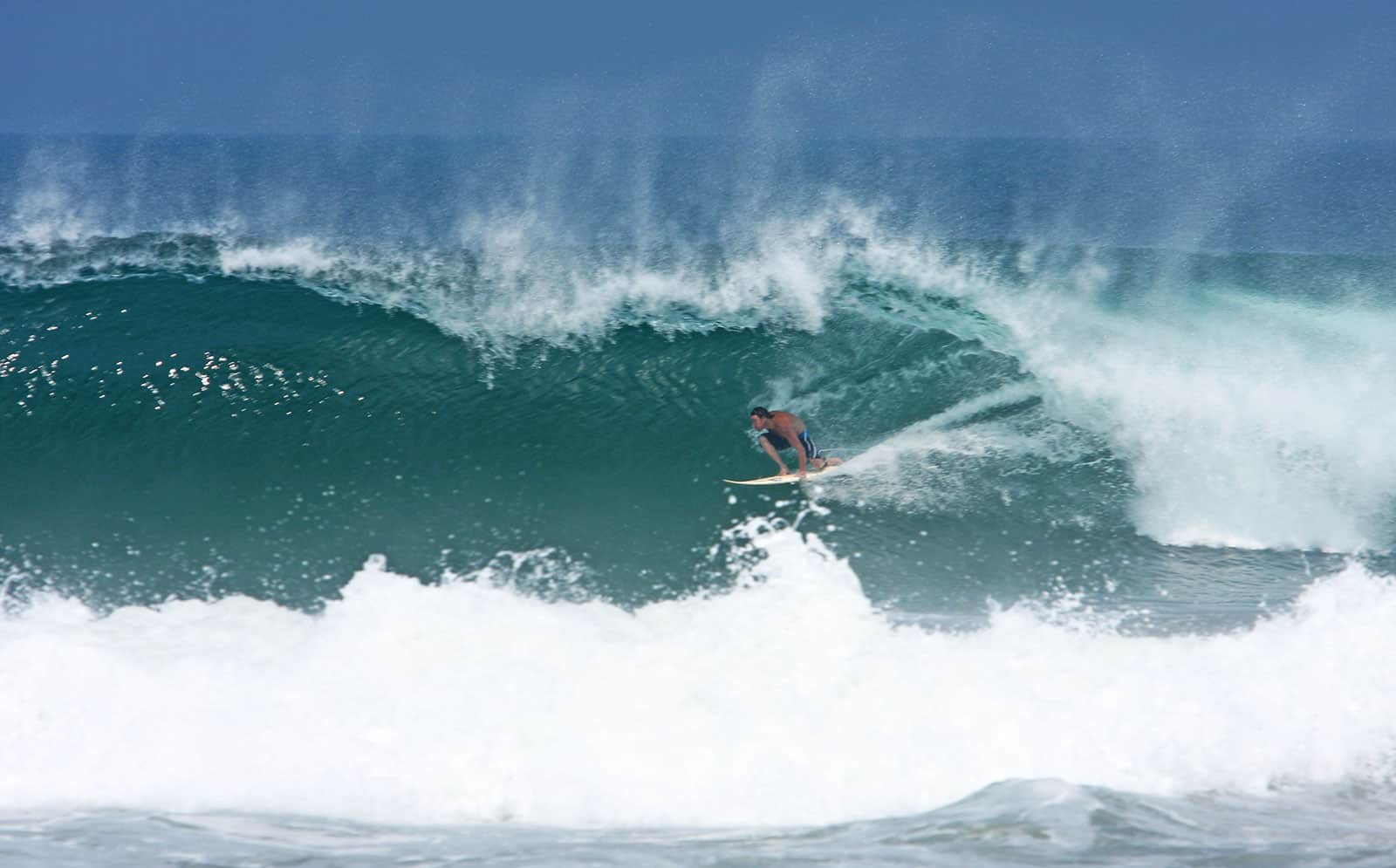 Puerto Escondido tube ride