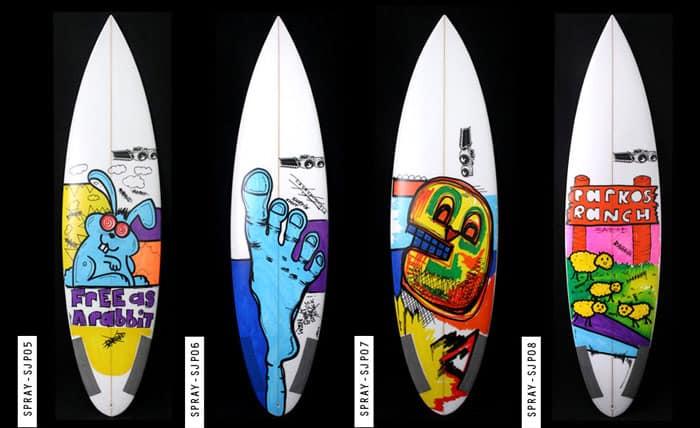 Artwork Designs For Surfboards