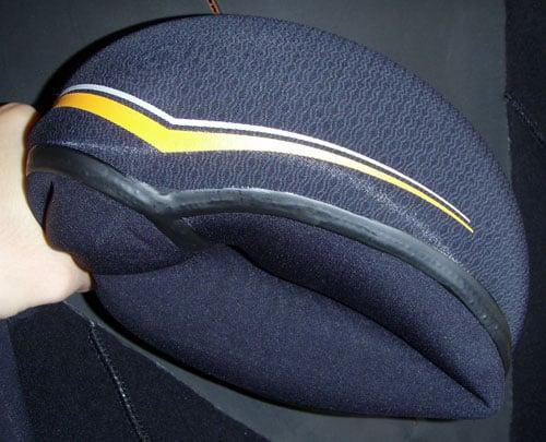 Wetsuit test