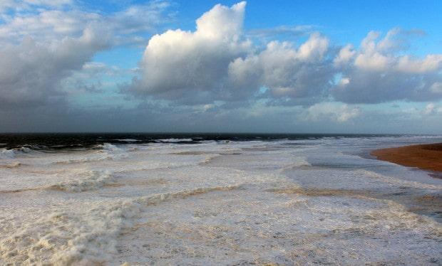 ocean foam for miles