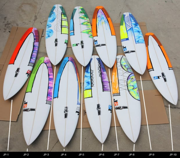 Gallery For gt Simple Surfboard Paint Designs