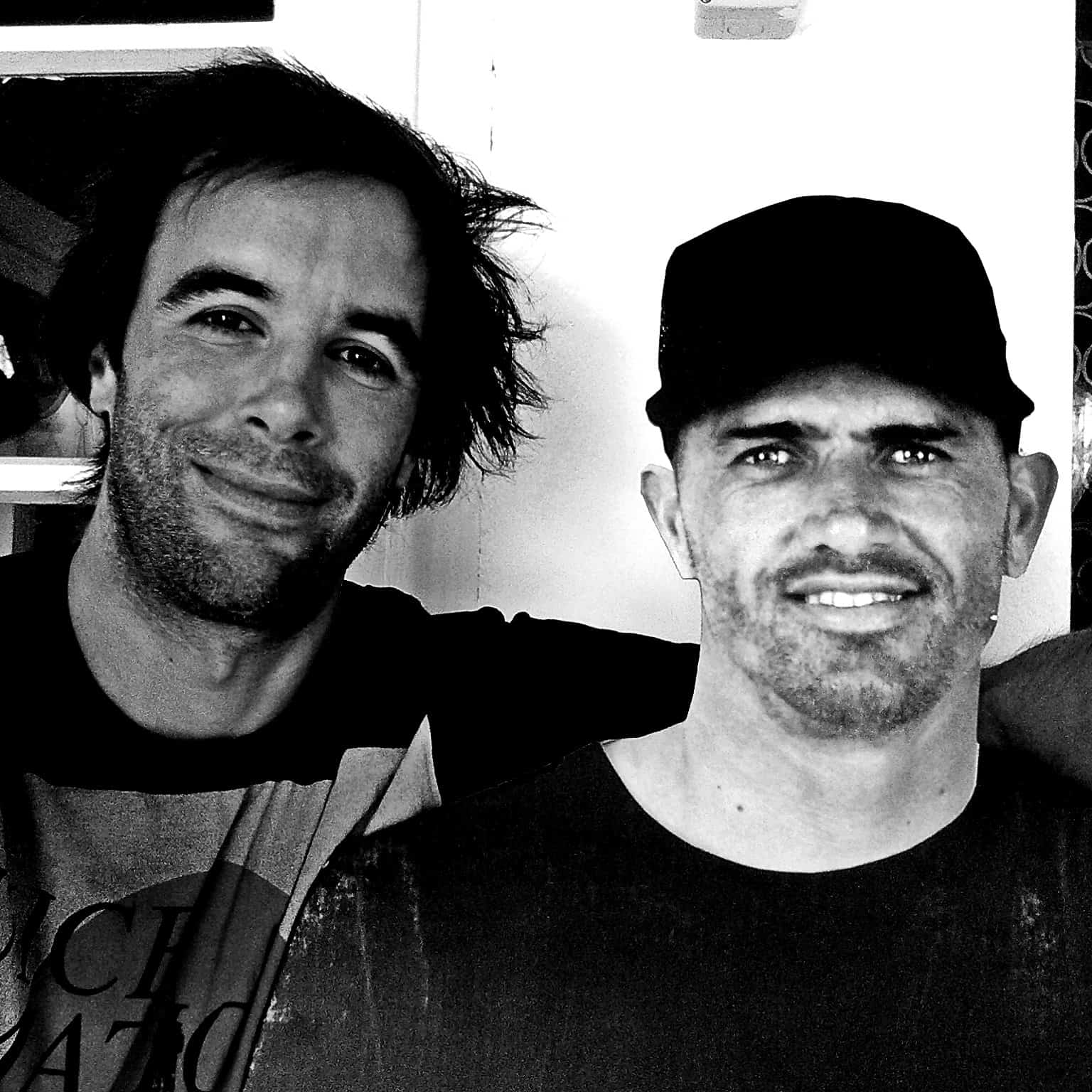 That's me and Kelly Slater. He is a static, thin and made out of paper. Did fool a few people though:).