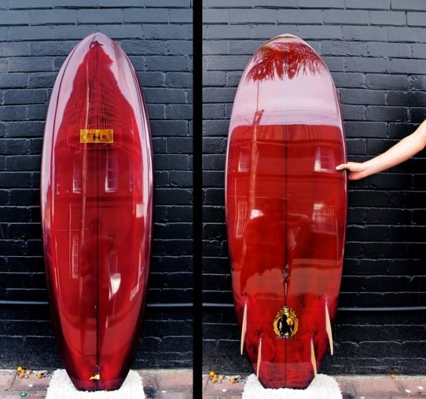 shiny-red-surfboard