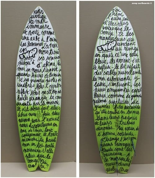 text-writing-surf-design