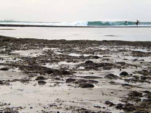 Balangan Reef On Low Tide
