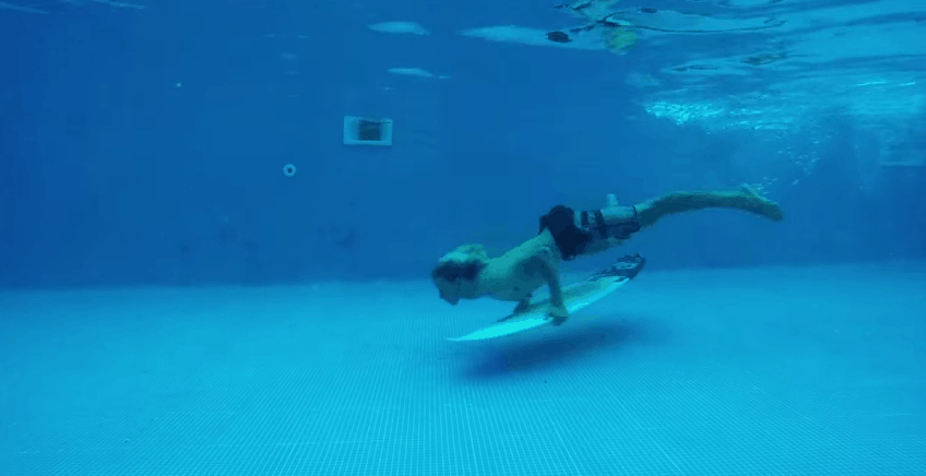 JJF-duck-diving-in-the-pool