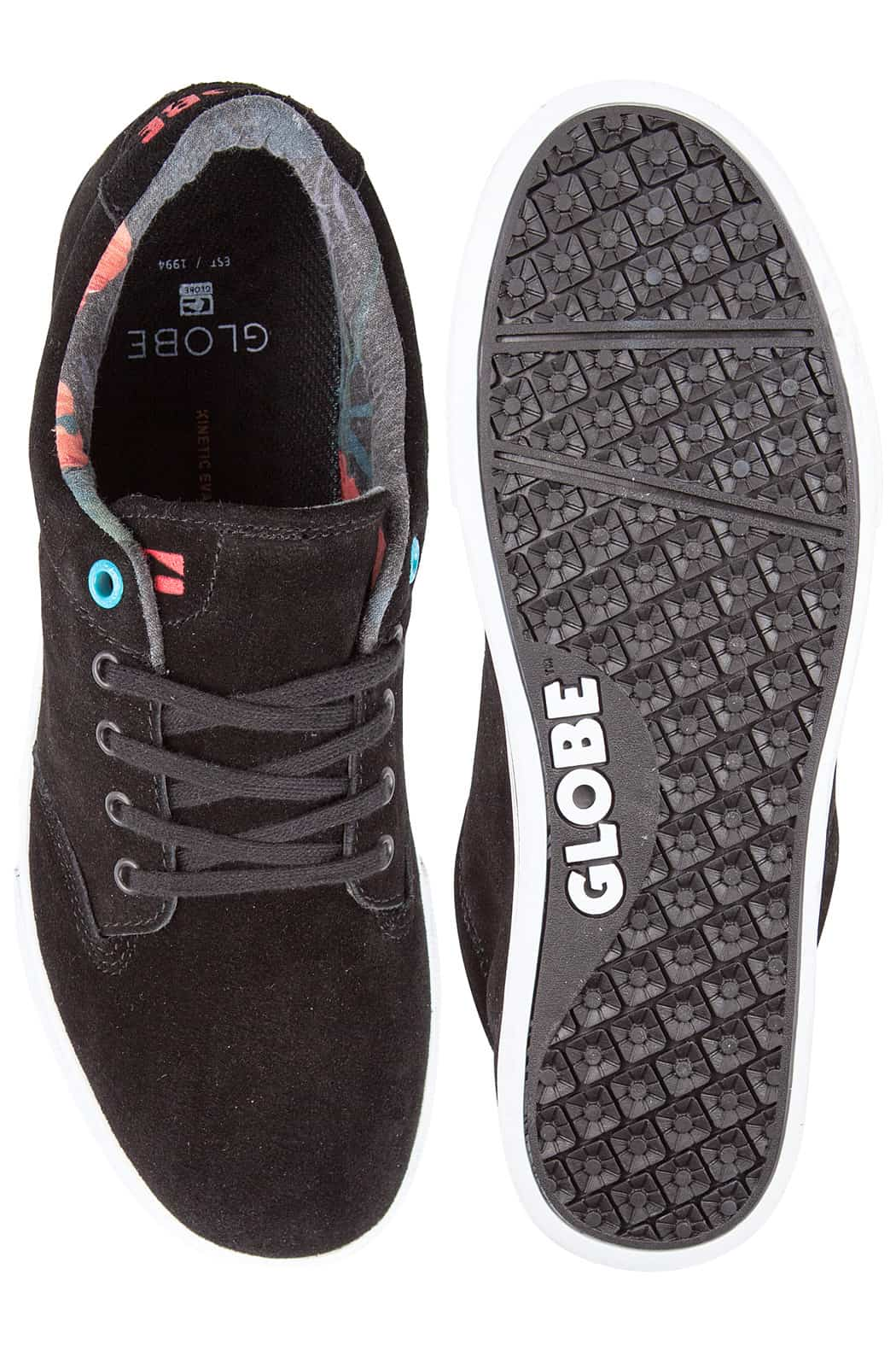 Globe Lighthouse Slim Suede Skate Shoes