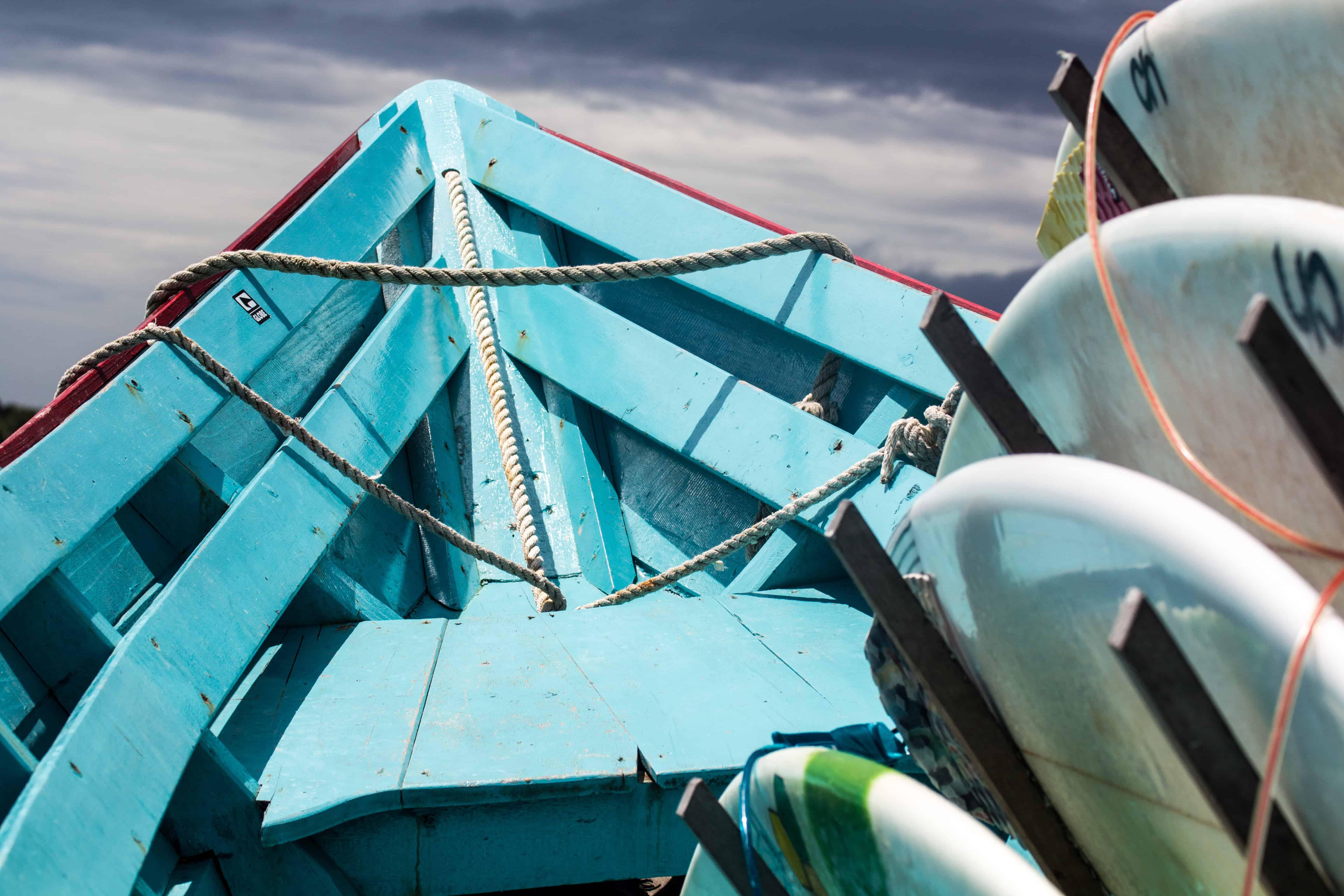 Boat trip to amusement park.