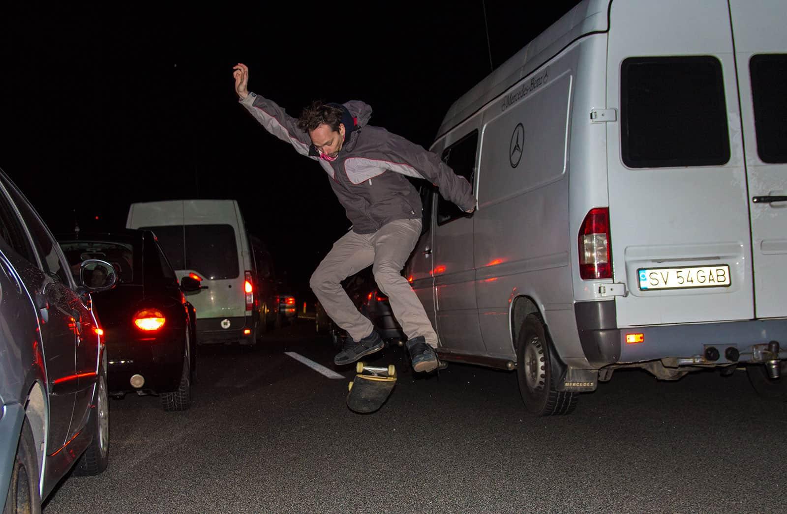 Highway skate.