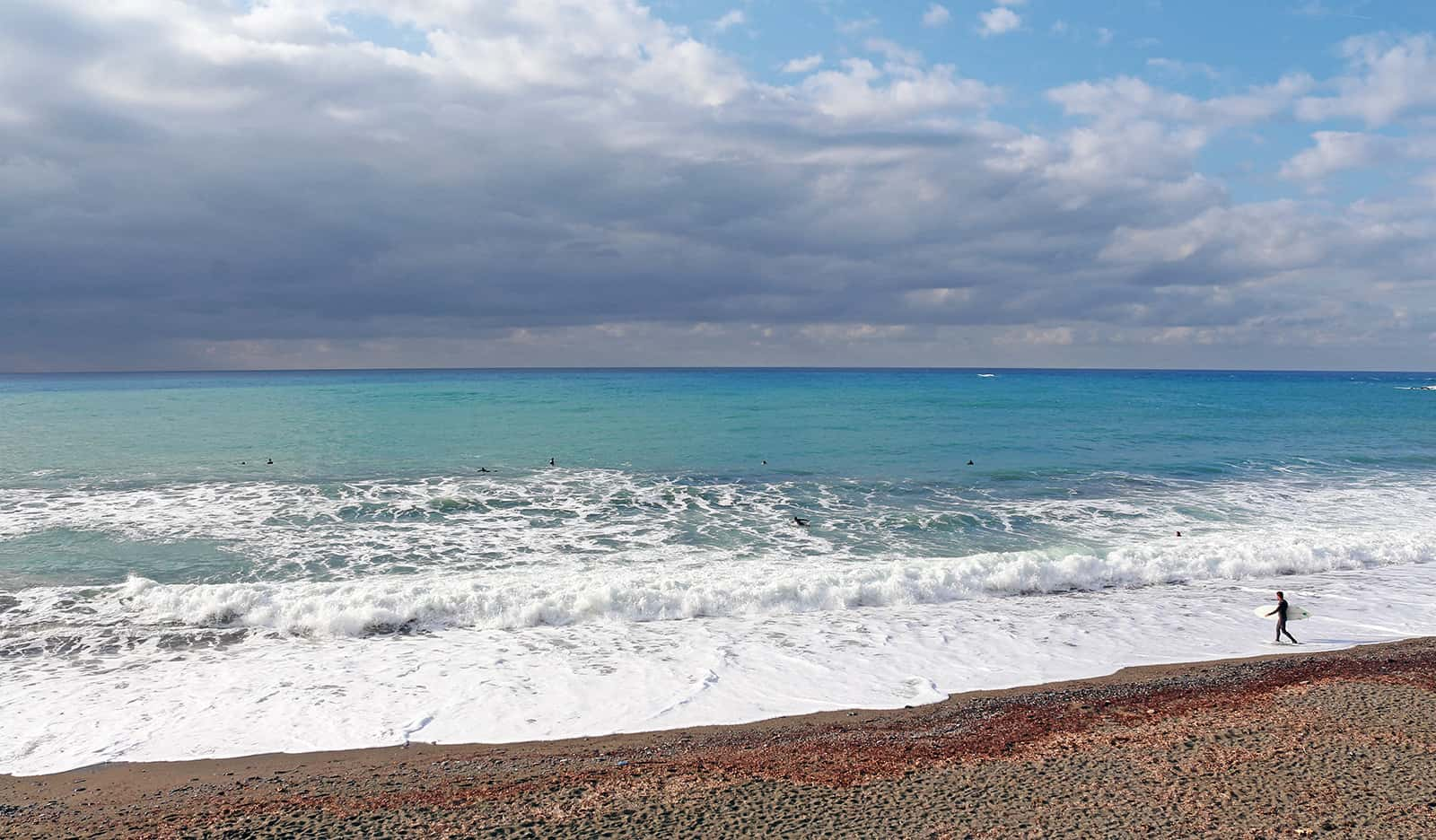Ligurian sea colors.