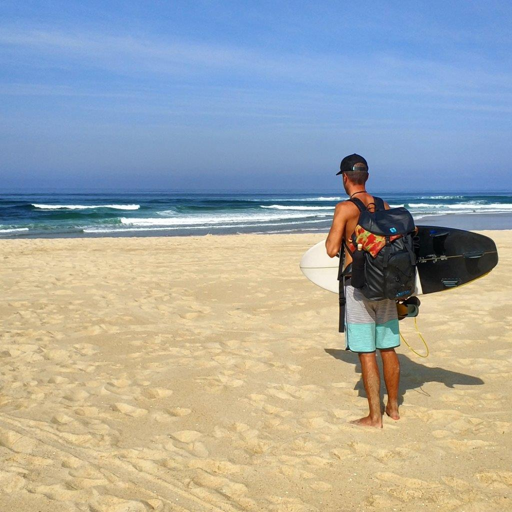 Empty beachbreak and <a href=