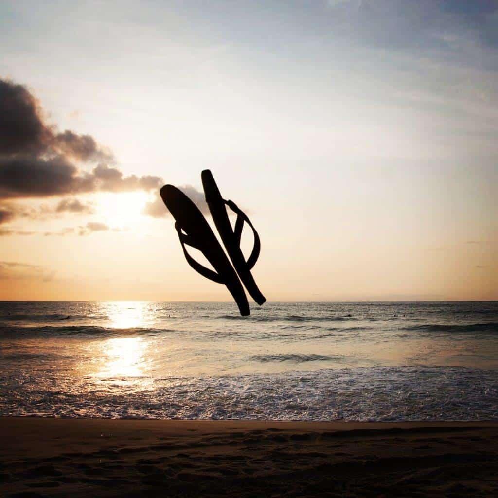 Goodbye summer, goodbye flipflips. See you soon.