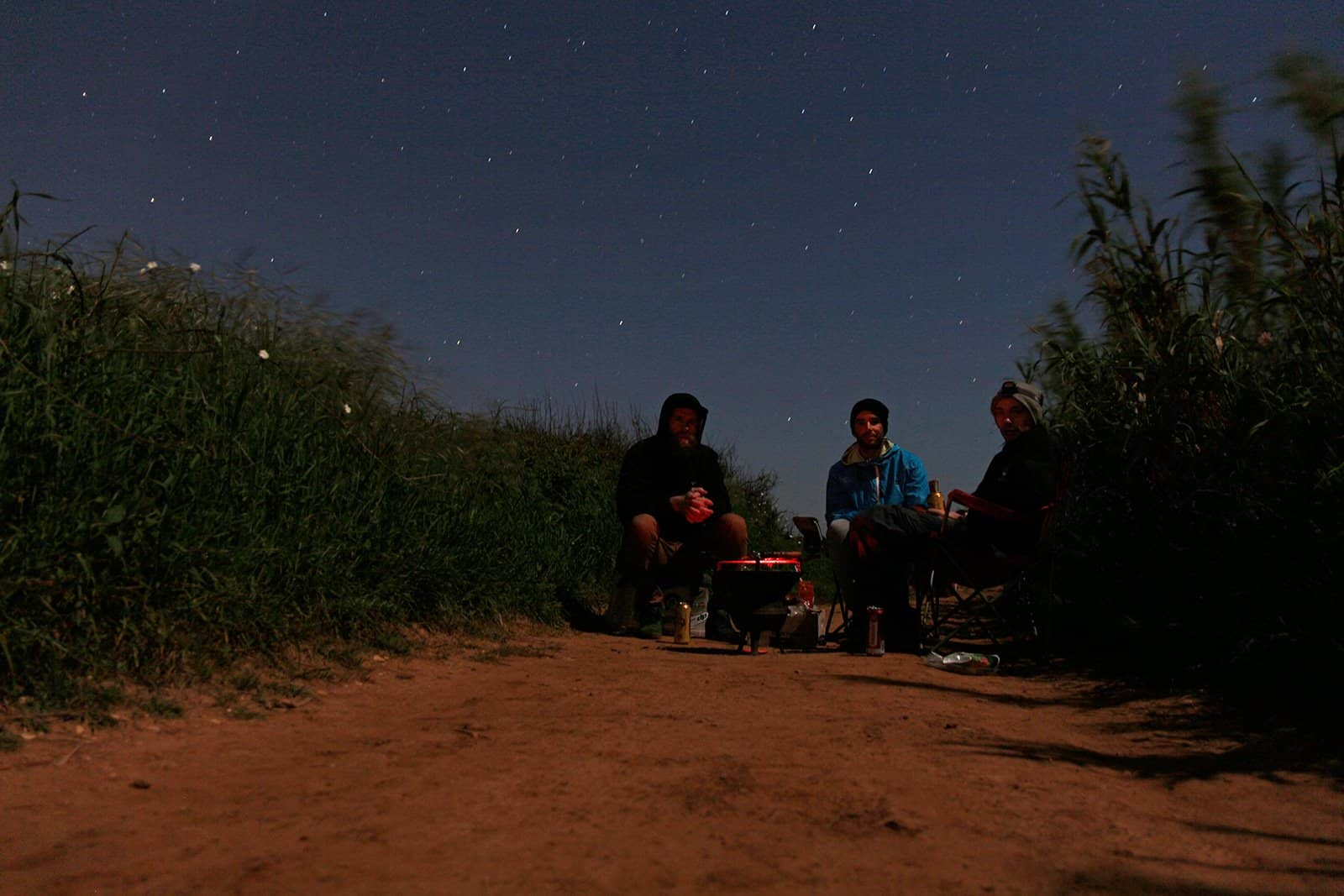 Overburned hotdogs, cheap beer, million stars and good friends.