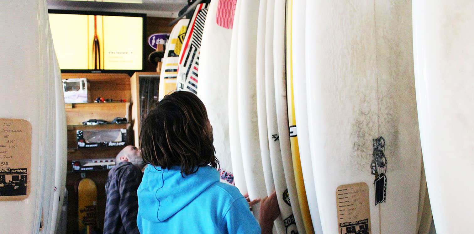 how to buy a used surfboard