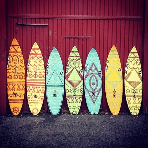 surfboard-design-lineup - 360Guide